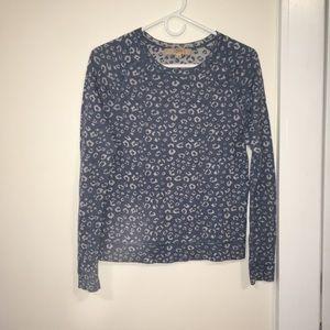 Loft printed sweater